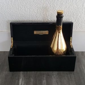 Black Ace Of Spades Champagne Decor Box